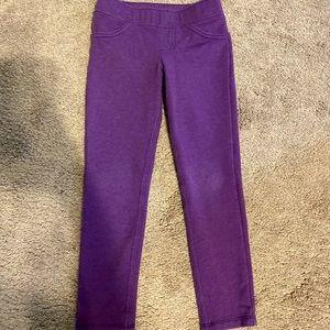 Purple pants size 5